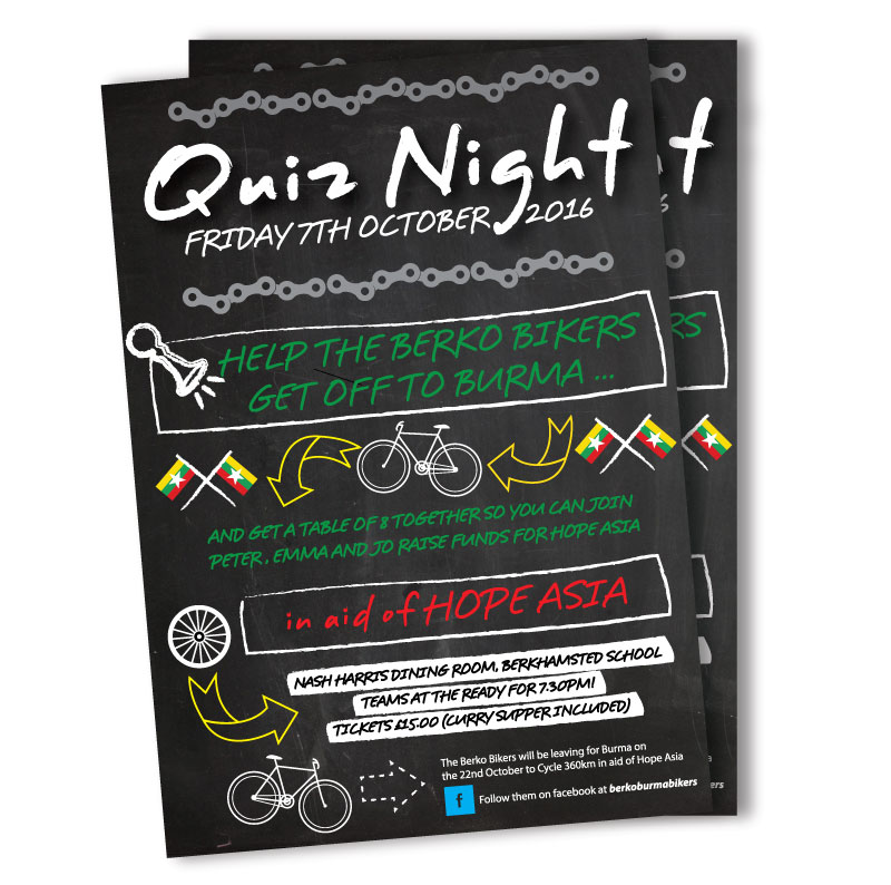 Berko Bikers Quiz Night