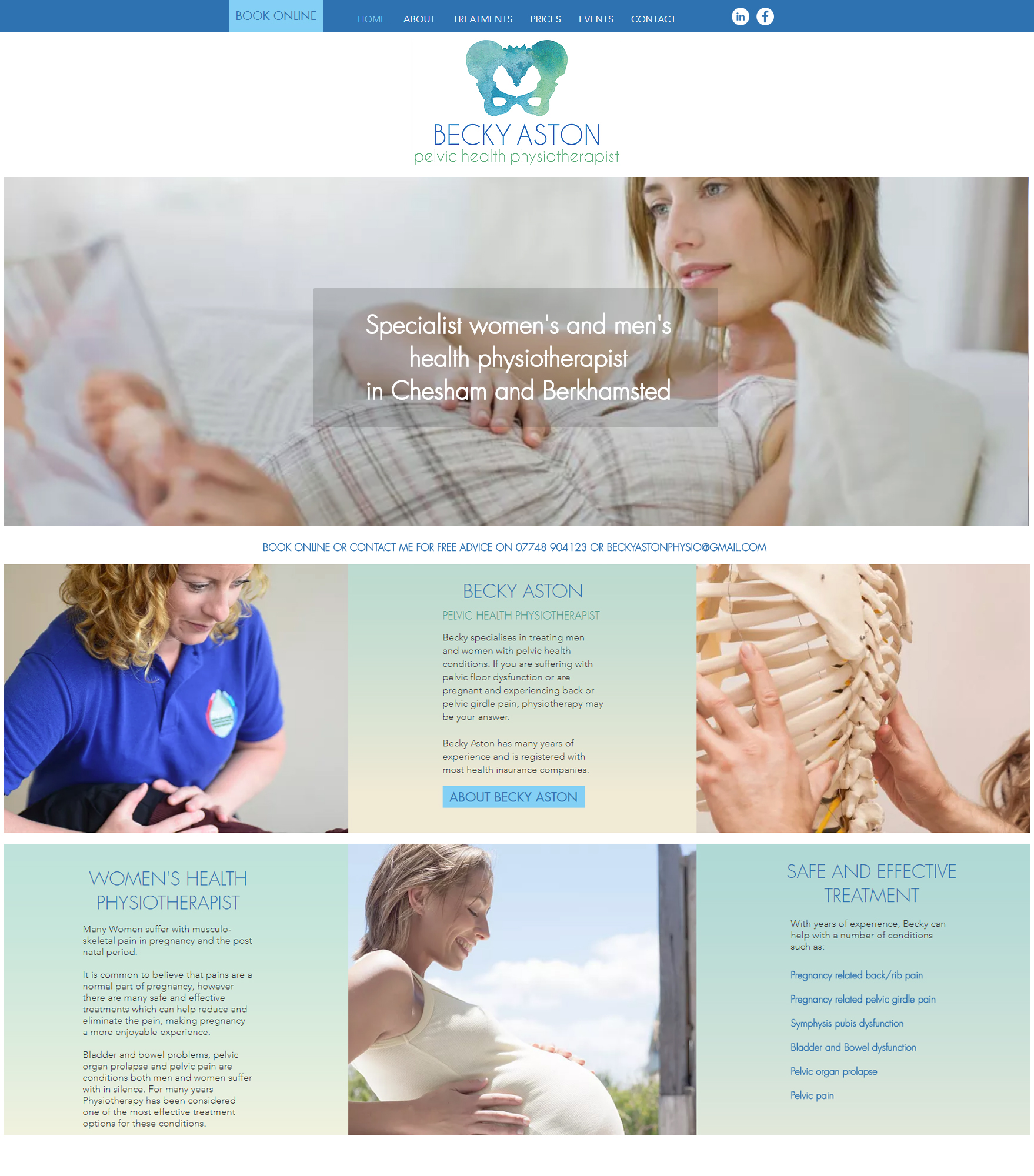 Becky Aston Physiotherapy