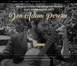 Don Adam Perera Classical Guitarist