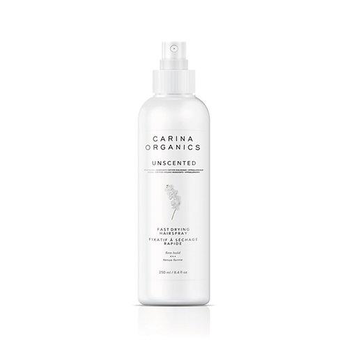 Carina Organics Unscented Fast Drying Hair Spray – 250ml