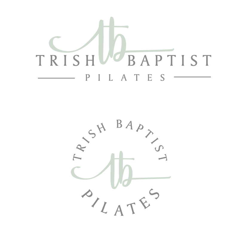 Trish Baptist Pilates Logo Design