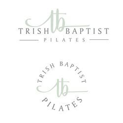 Trish Baptist Pilates Logo Design