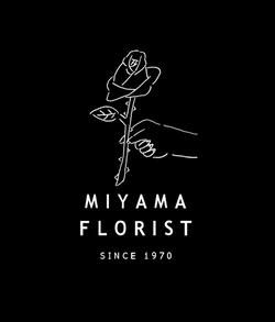 MIYAMA FLORIST ロゴ