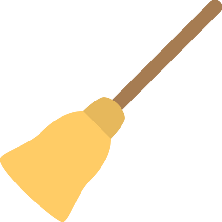 Cleaning - A Broom