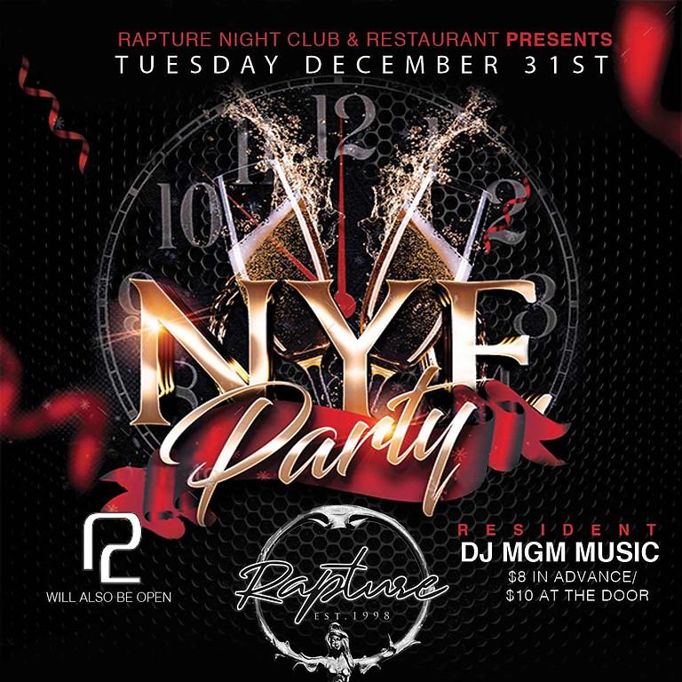 NYE DJ MGM