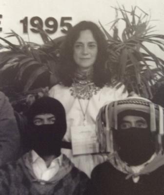 En octubre, es nombrada Procuradora Electoral del pueblo chiapaneco. » Participó en el establecimiento de el primer Campamento Civil por la Paz en comunidades indígenas en Chiapas. » En diciembre, realiza el ayuno por la paz en Chiapas, en el Angel de la Independencia.