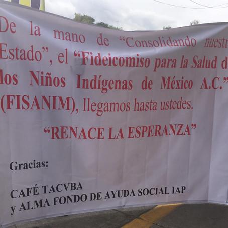 """Primera acción del FISANIM y """"Consolidando Nuestro Estado"""" en la comunidad """"La Ermita"""