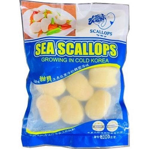 【海醍味】甜貝/牛角貝組合(6包)