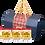 Thumbnail: 手作葉黃素蛋捲3入組禮盒