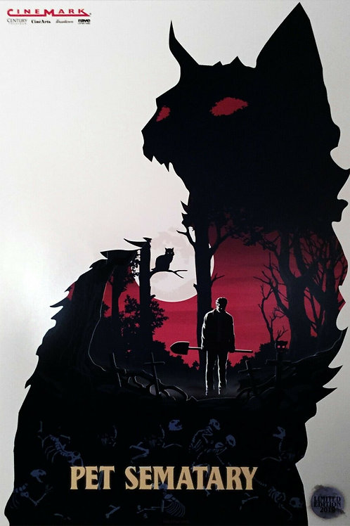 """Pet Sematary 2019 11"""" x 17"""" Limited Edition Poster"""