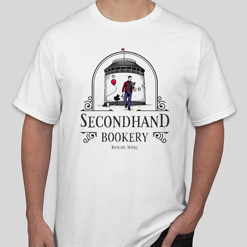 Secondhand Bookery Logo T-Shirt