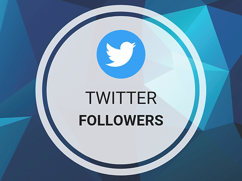 1500 Twitter Followers (21 day delivery)