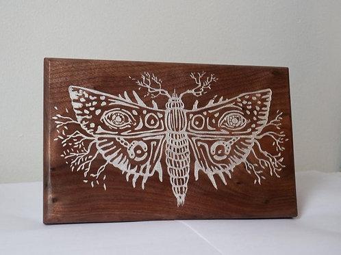 Sleeping Beauties Inspired Wood Carving Pre-Order