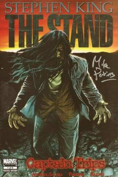 Stephen King's The Stand by Marvel - Captain Trips Issue #1 Signed by Artist