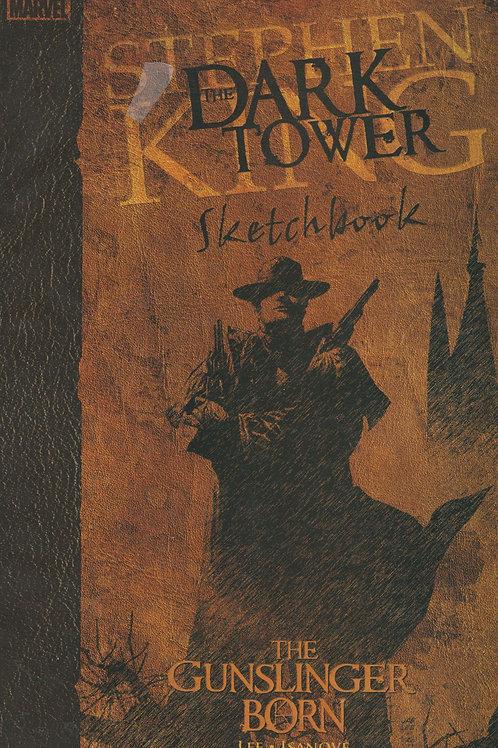The Dark Tower Marvel Comic - Gunslinger Is Born Sketchbook - Stephen King