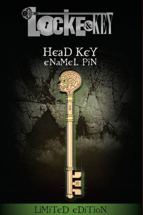 Locke & Key: Head Key Enamel Pin