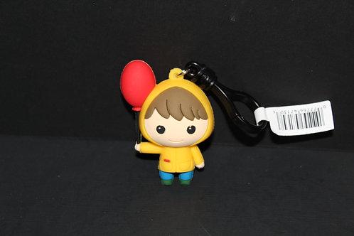 Georgie Holding Balloon Keychain IT Stephen Kin