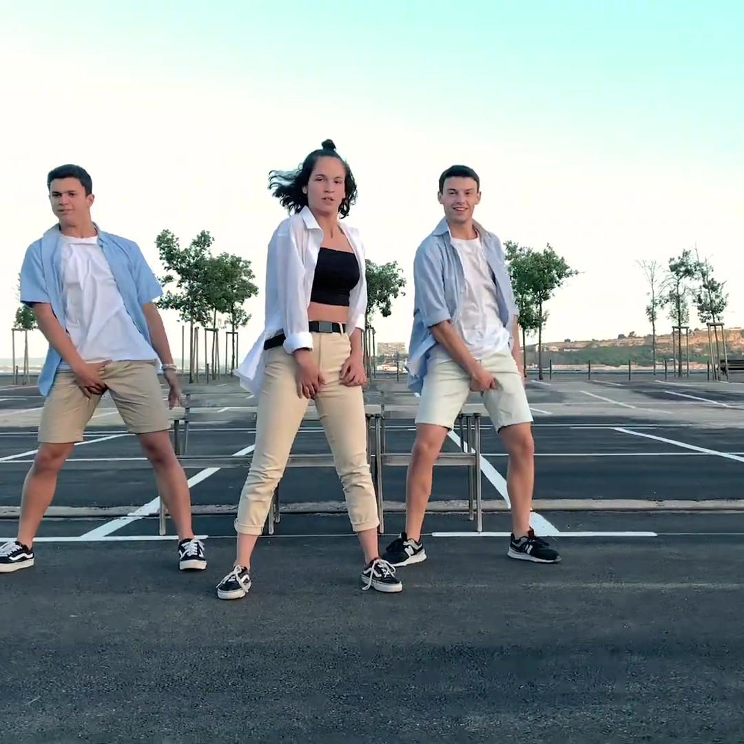 videodança dos bailarinos alunos da escola Jazzy Dance Studios, Gonçalo Gonzaga, António Máximo e Teresa Costa