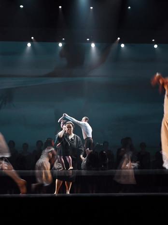 vídeo do espetáculo de dança, Black Box no Tivoli