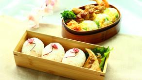 春のお弁当【桜おむすび・ミモザおむすび】作り方
