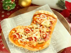 家族と楽しむクリスマスごはん【ブーツピザ】の作り方