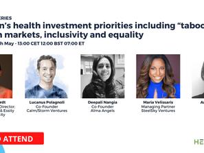 Hear Essity Ventures Speak at the HealthSpan Show!