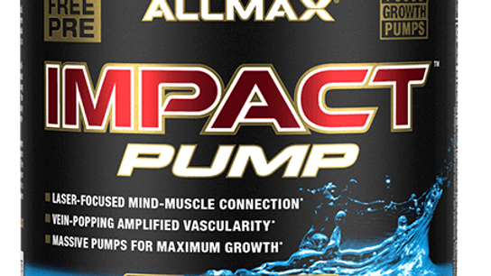 Impact Pump: Non-Stim Pump Pre-Workout