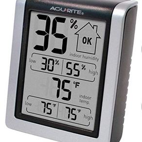 Digital Humidity Gauge & Indoor Thermometer