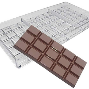 60g Hard Polycarbonate Chocolate Bar Mold