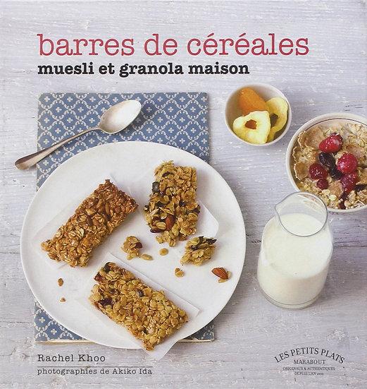 Barres de céréales muesli et granola maison - Rachel Khoo