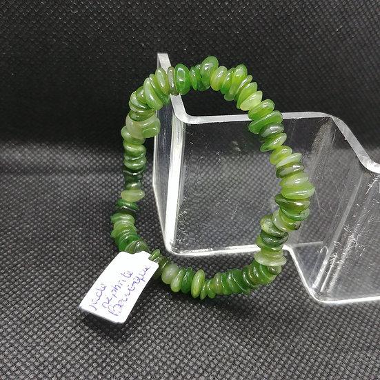 Bracelet Baroque - Jade Néphrite