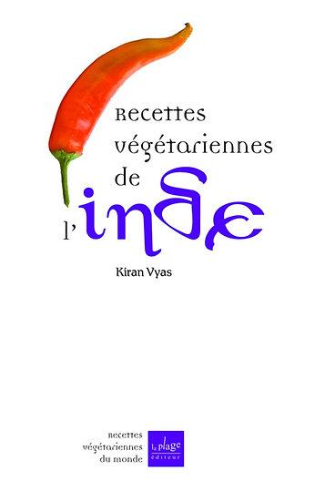 Recettes végétarienne de l'Inde - Kiran Vyas