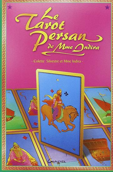 Le Tarot persan de Madame Indira - Le livre - Colette Silvestre