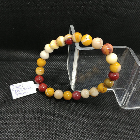 Bracelet - Jaspe Mokaïte