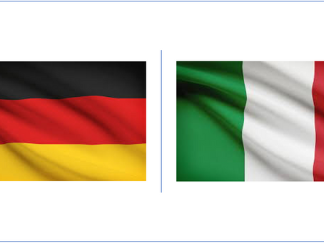 Italy and Germany -100% accurate