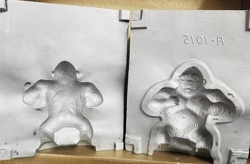 Small Gorilla  Aluminum Mold