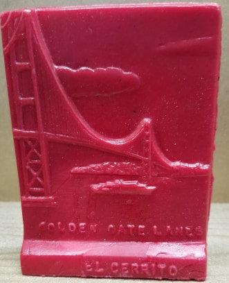 Golden Gate Bridge - El Cerrito - Red