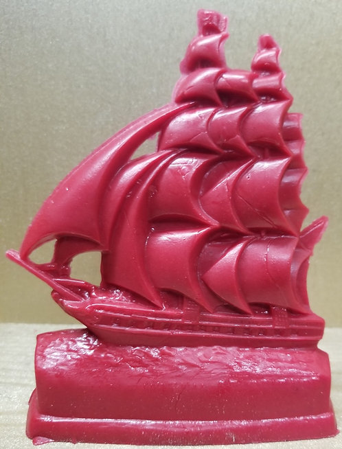 Constellation Sailing Ship - Red