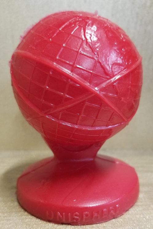 Unisphere- New york Worlds Fair - Red