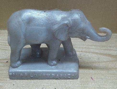 Elephant (Small) - Lowry Park Zoo - Silver