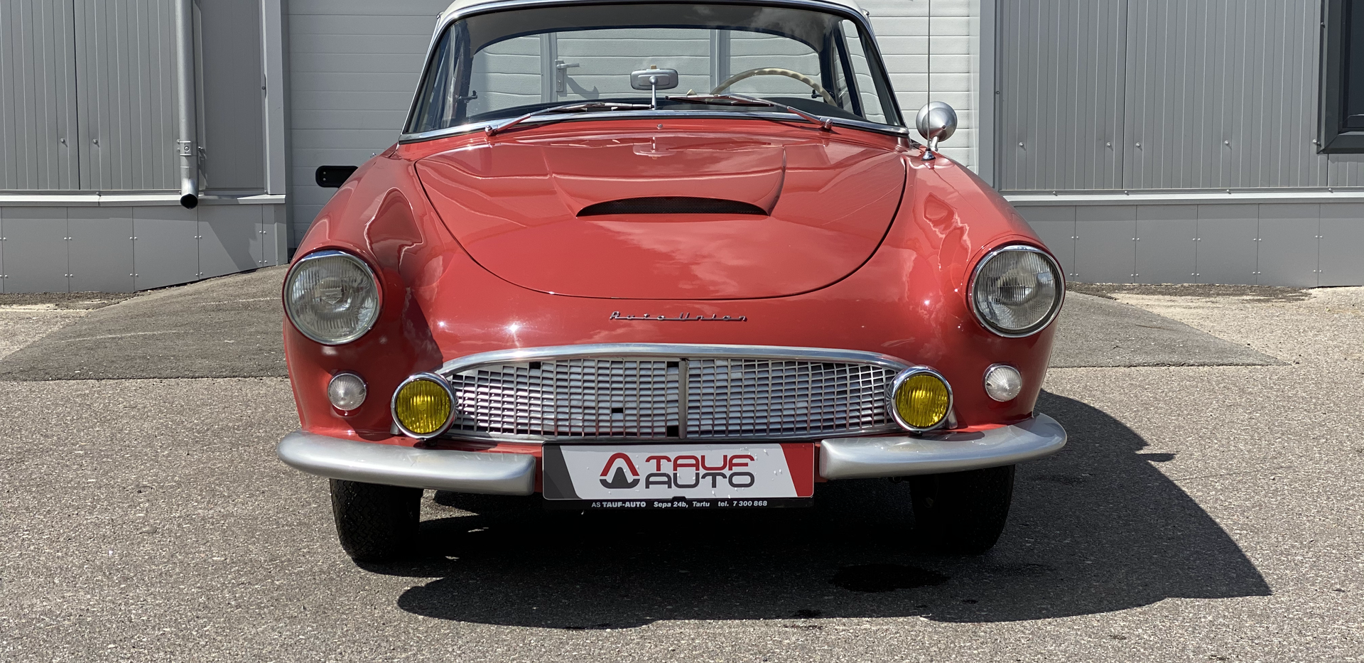 Auto Union 1000SP Coupe 1960