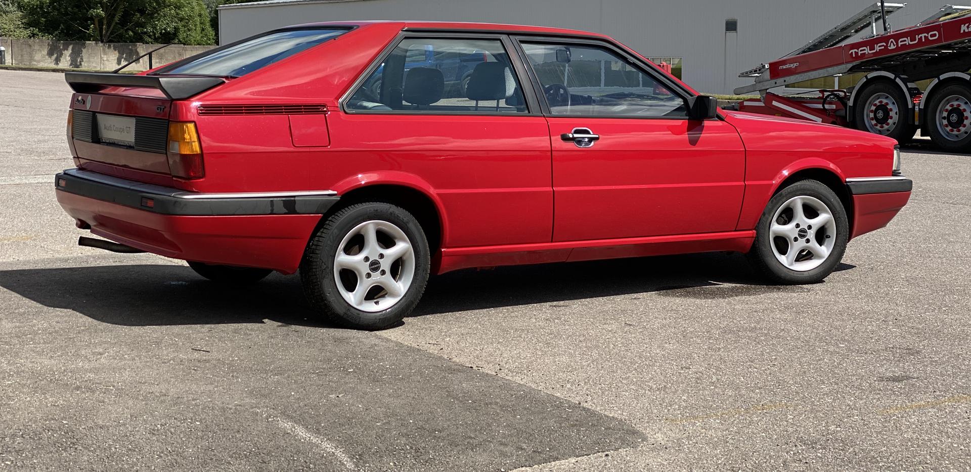 Audi Coupe GT 1987