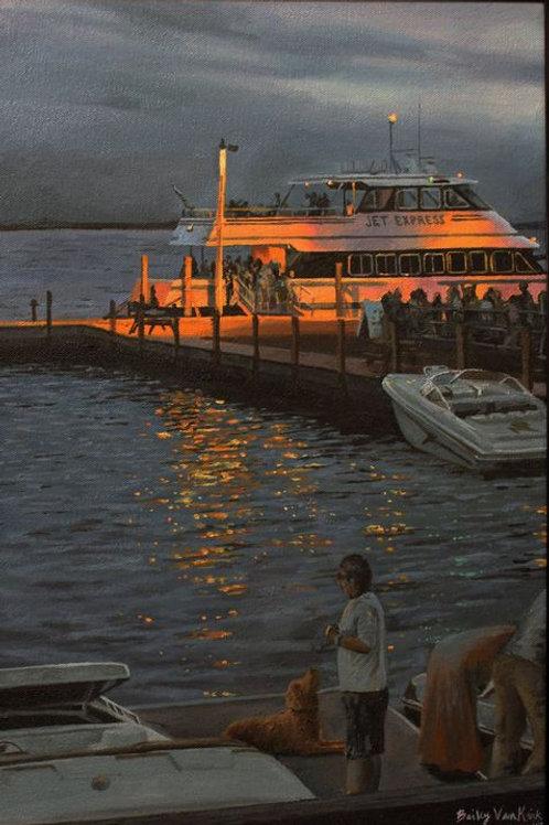 Evening Jet (Kelleys Island)