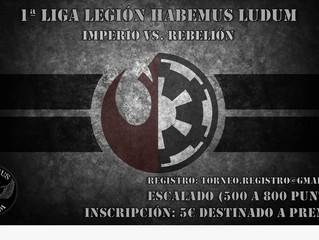 I LIGA STAR WARS LEGION (4 feb 2019)