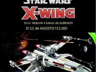 JORNADA PEQUES STAR WARS X-WING (11-ago-2019)