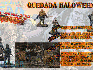 Quedada Halloween Walking Dead (25-OCT-2019)