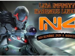 LIGA INFINITY N4 (Nov'20 - AGO'21)