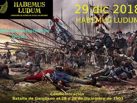 TERCIOS: Batalla  de Garellano