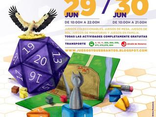 JUEGOS Y QUEBRANTOS 2019 (29y30 JUN 2019)