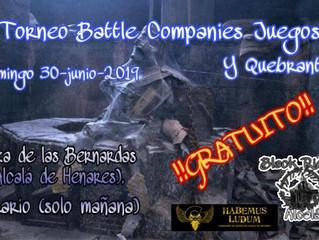 2º Battle Companies Juegos y Quebrantos (30 JUN 2019)